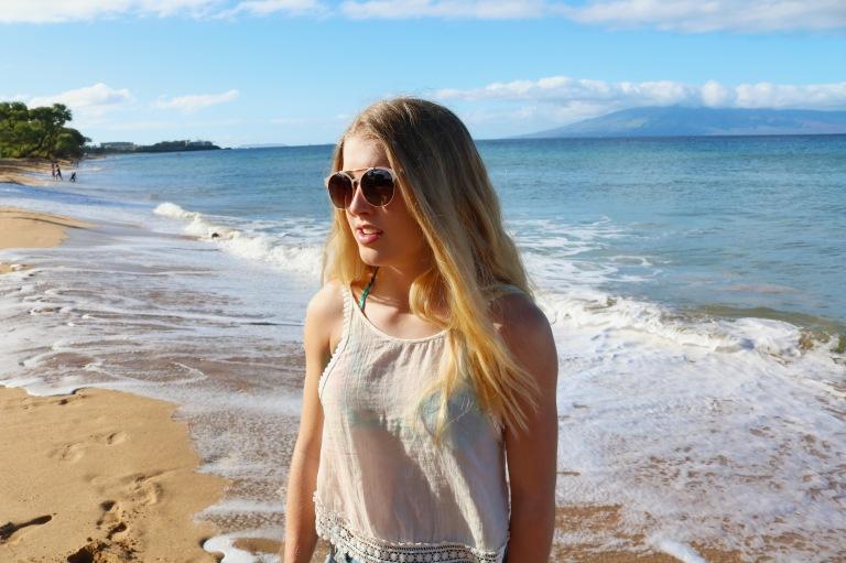 claire in hawaii